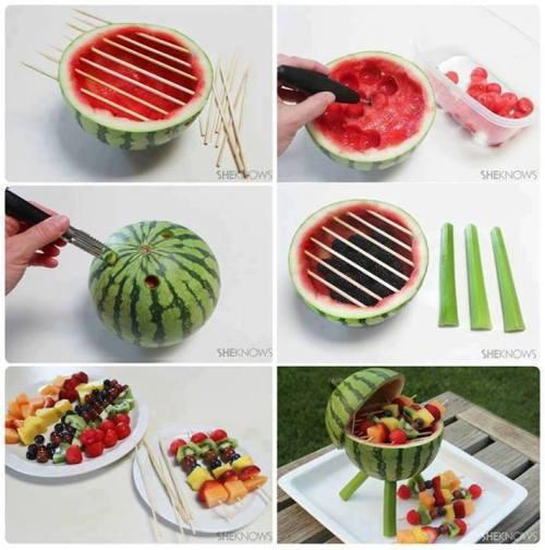 Uma ideia divertida e saudável
